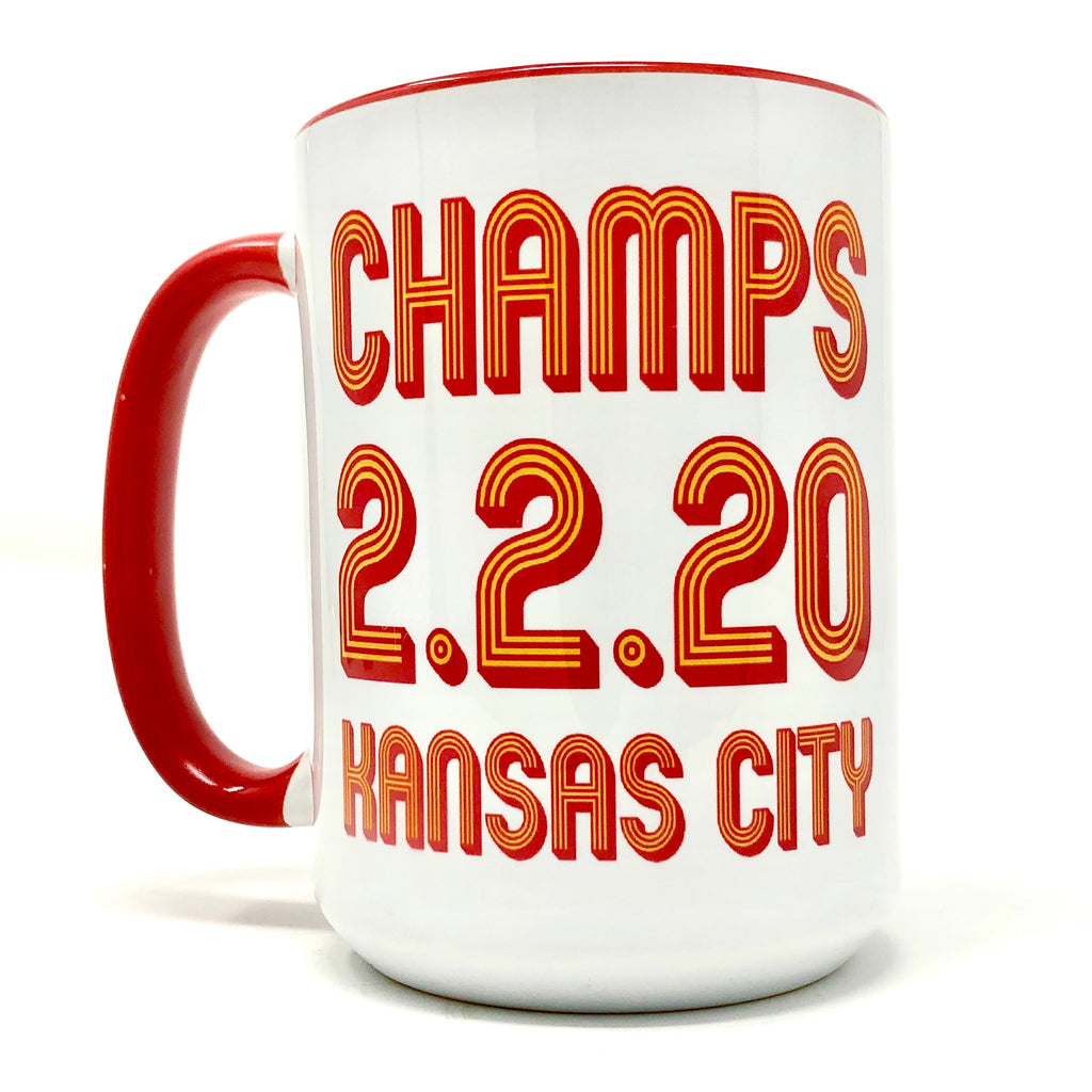 CHAMPS KC Football Coffee Mug