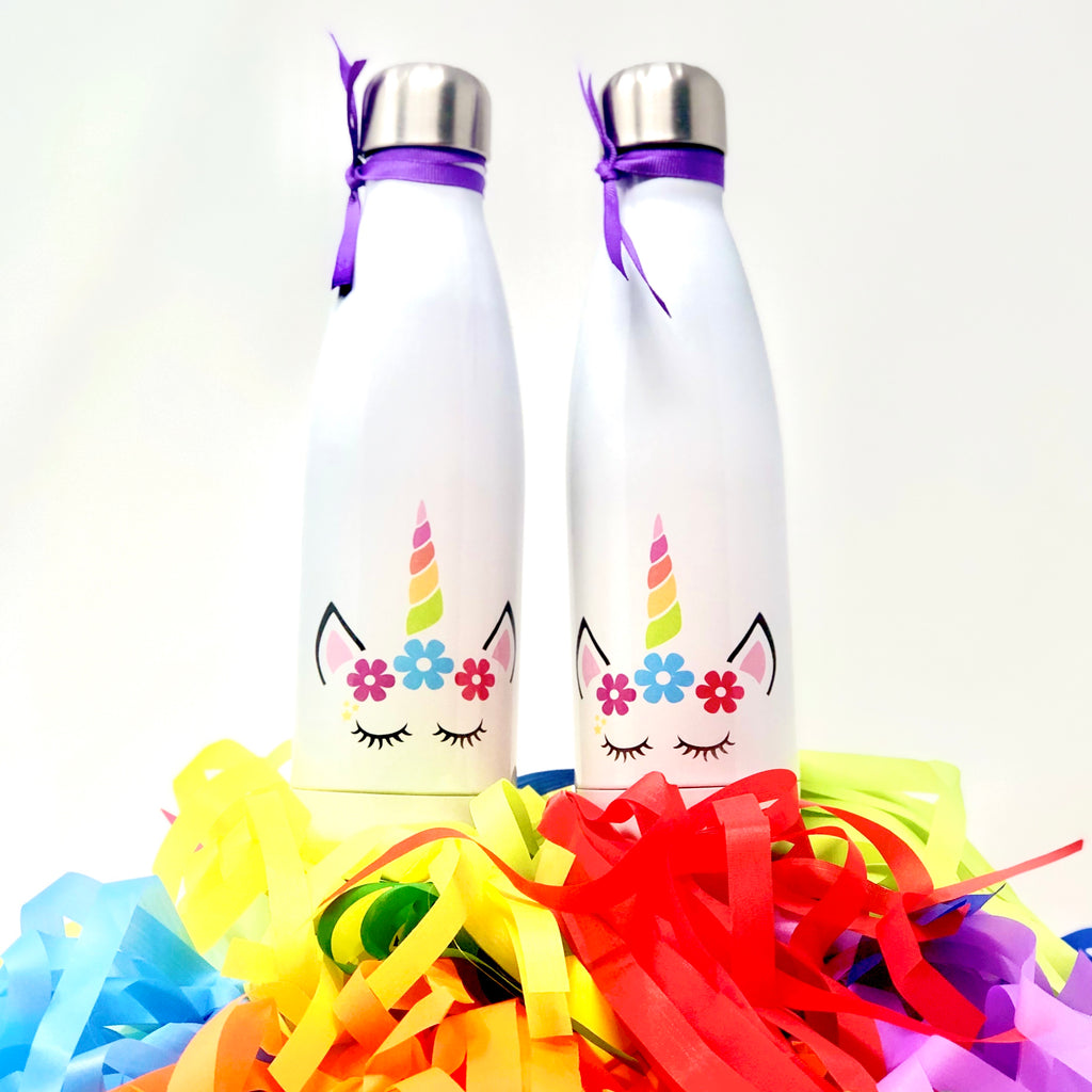 Cute Unicorn Water Bottles Set of Two