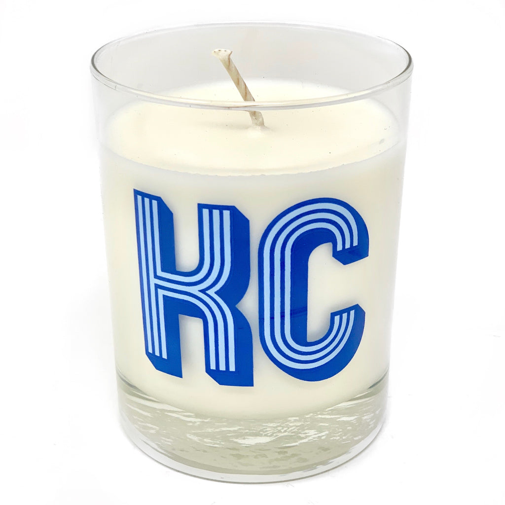 KC Cares Candle Supporting HC Frontline Providers