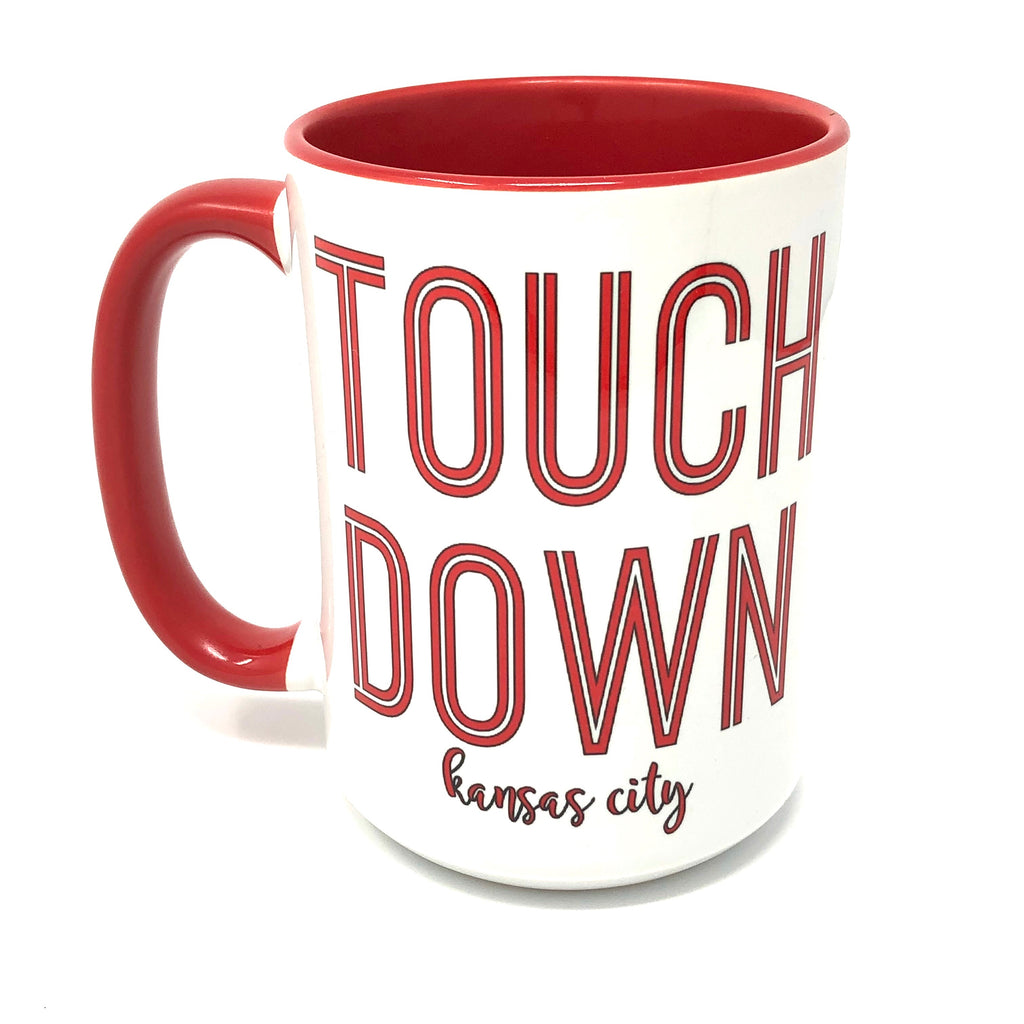Touchdown Kansas City coffee mug