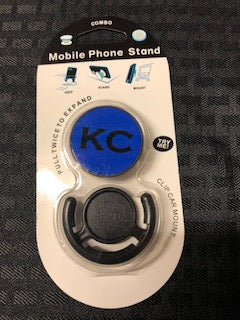 Phone Accessory KC Blue and Black