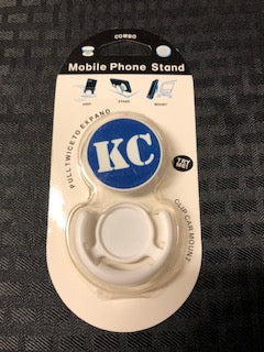 Phone Accessory KC Blue and White