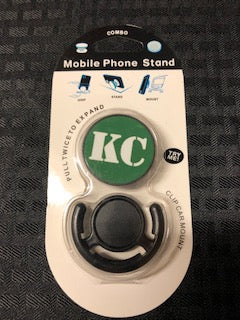 Phone Accessory KC Green and White