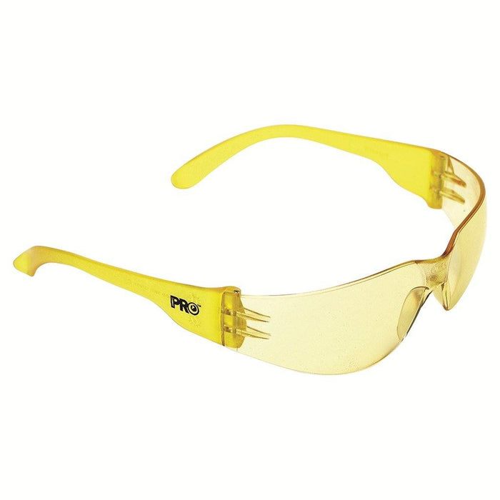 ProChoice Tsunami Safety Glasses Amber Lens