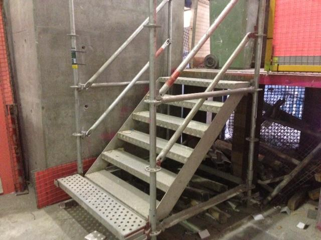 Stretcher Stair Aluminium 1.0m