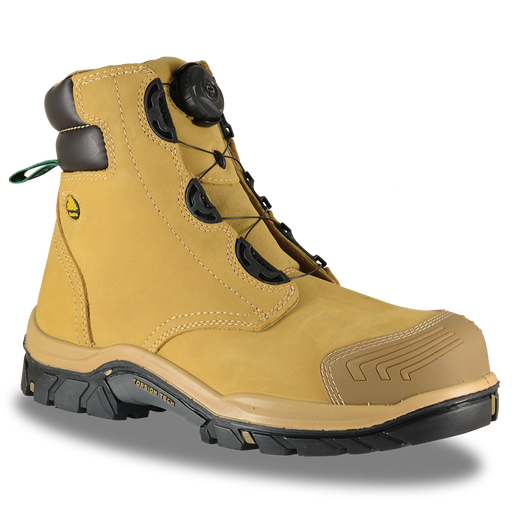 Bata Hero 552 Wheat Nubuck BOA Lace Safety Boot - Available Sizes: 3-14 UK + 6.5 & 10.5 Only