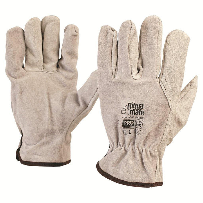 ProChoice Cowsplit Leather Riggers Gloves