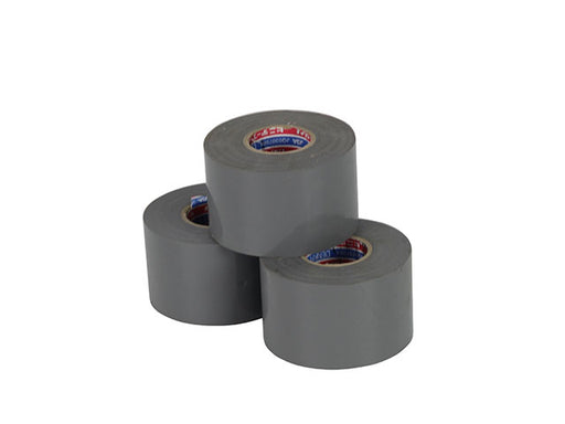 Duct Tape Grey 50mm x20m Roll(s)(s)  poly chloride vinyl adhesive tape   In Box of 120