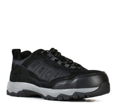 Bata Fury - Black Suede Safety Jogger