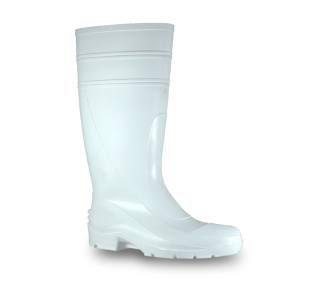 Bata Utility White PVC 400mm Non Safety Boot