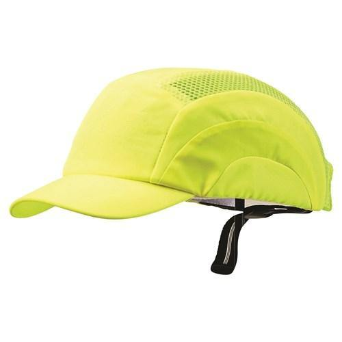 ProChoice Bump Cap Short Peak Fluro Yellow - Dynaton Australia