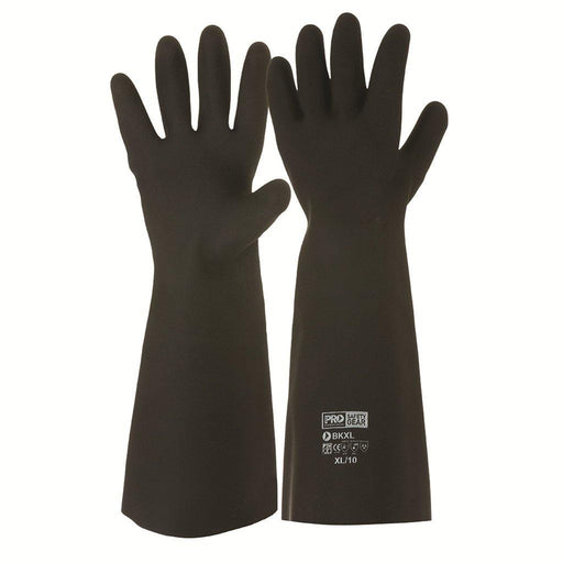 ProChoice Black Knight® 46cm Rubber Gloves - Dynaton Australia