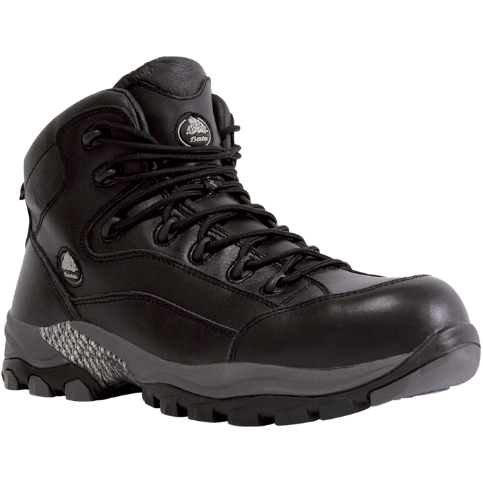 Bata Bickz 902 Black Leather Lace Up Composite Safety Boot - Available Sizes: 5-13 UK