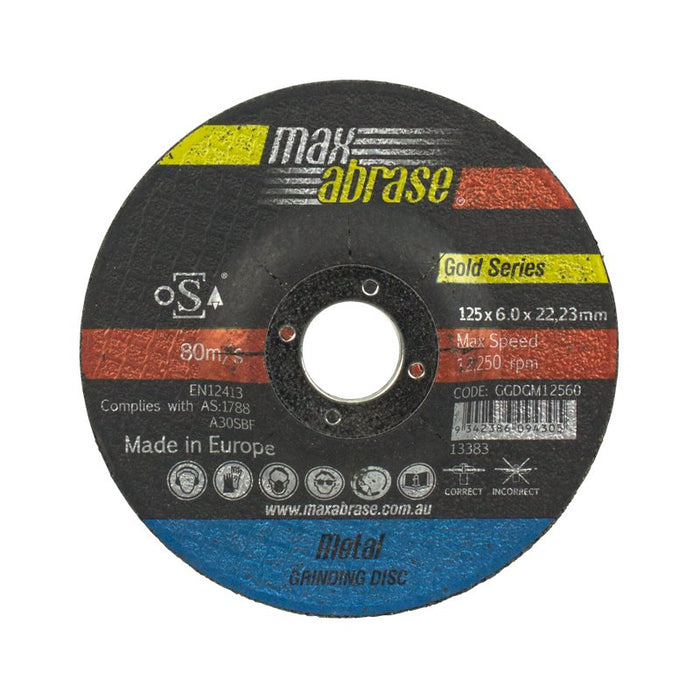 Grinding Disc - Metal Gold Series carded