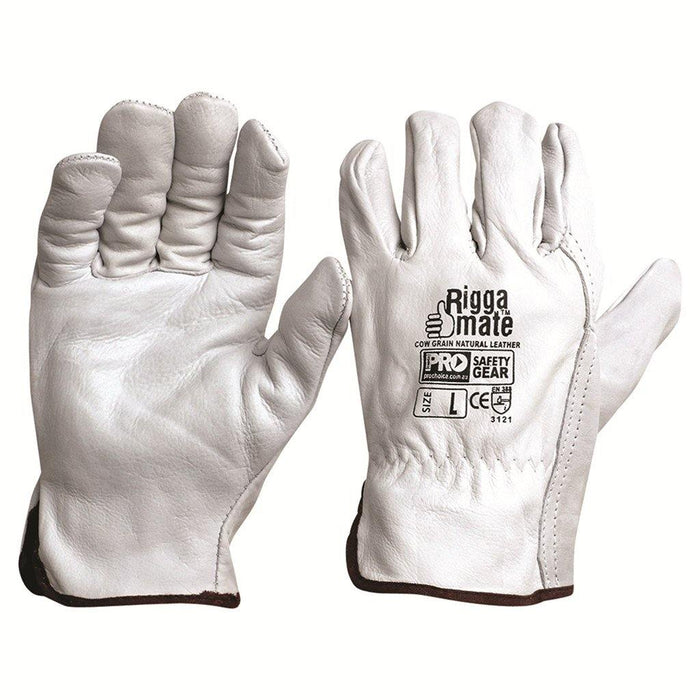 ProChoice Riggamate Natural Cowgrain Gloves
