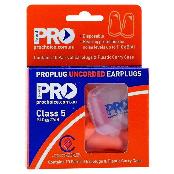 ProChoice Probullet Disposable Earplugs Uncorded
