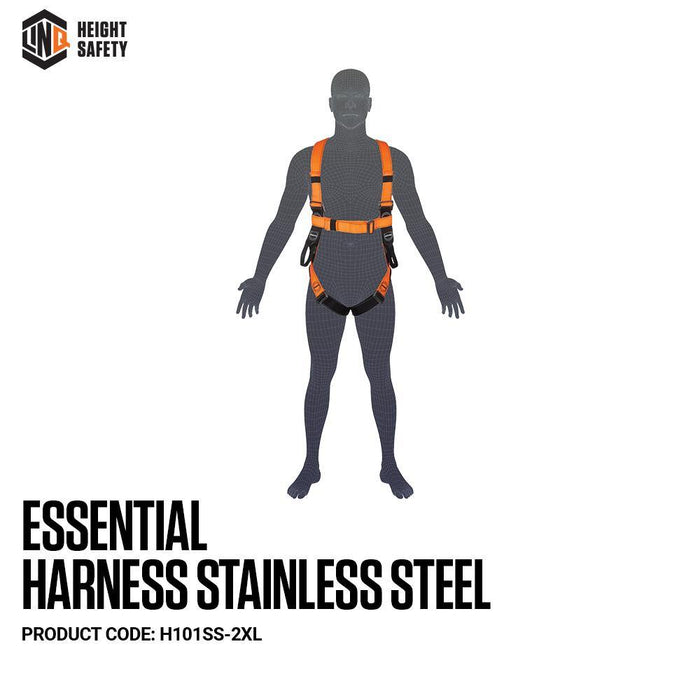 Essential Harness Stainless Steel - Dynaton Australia