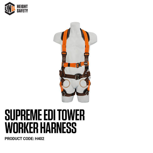 Supreme Edi Tower Worker Harness cw Harness Bag (NBHAR) - Dynaton Australia