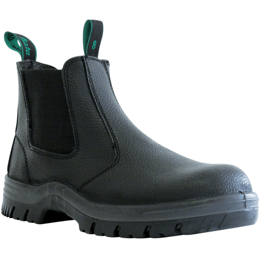 Bata Naturals HERCULES Black Rambler Slip On Safety Boot - Available Sizes: 3-13 UK + 6.5 + 10.5 Only