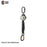 MICRON SELF RETRACTING 2M WEBBING LANYARD  SCREW GATE KARA & ALU SNAP HOOK