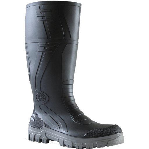 Bata Jobmaster 3 Black / Grey PVC 400mm Safety Boot - Available Sizes: UK 4-14 Only