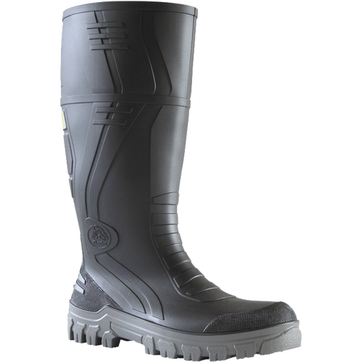 Bata Jobmaster 3 Grey 400mm PVC 400mm Safety Toe / Midsole Boot - Available Sizes: UK 4-14 Only