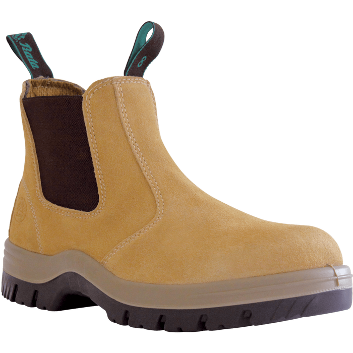 Bata Naturals MERCURY Wheat Suede Slip On Safety Boot