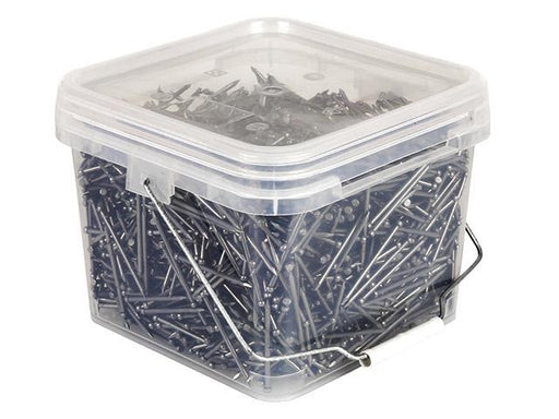 3 inch nails 15kg Bucket (75mm x3.75mm) (bullethead bright)
