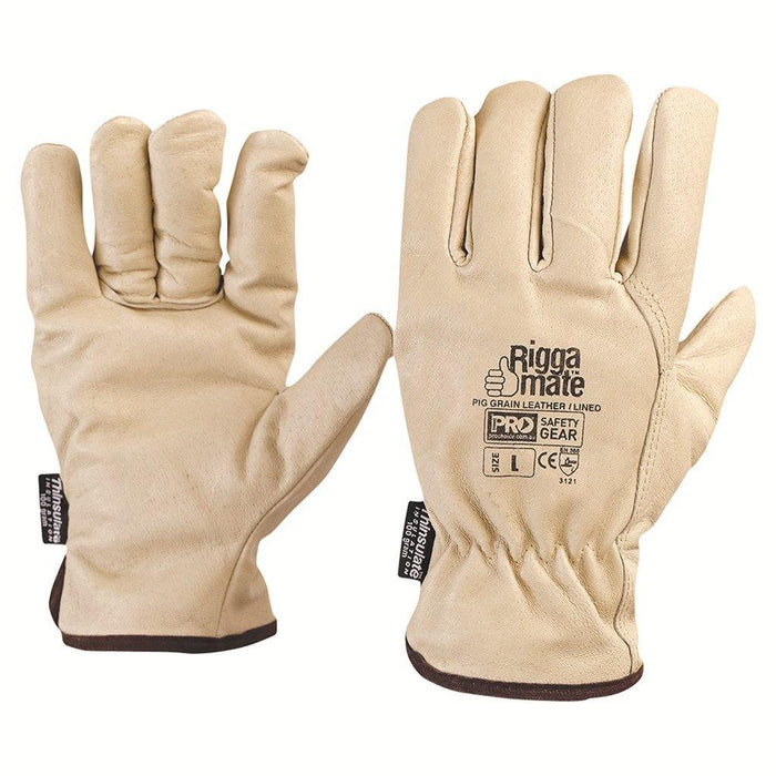 ProChoice Riggamate® Lined Glove - Pig Grain Leather Large