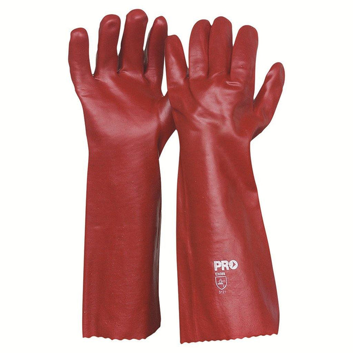 ProChoice 45cm Red PVC Gloves