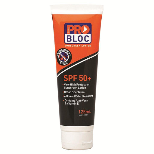 ProChoice Probloc 50+ Sunscreen 125mL - Dynaton Australia