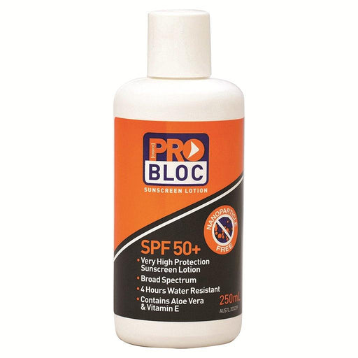 ProChoice Probloc 50+ Sunscreen 250mL - Dynaton Australia