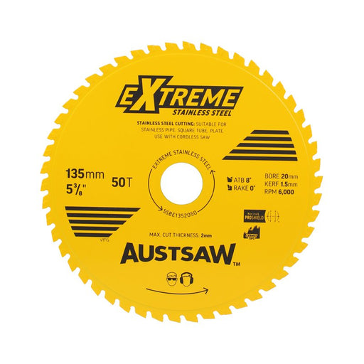 Austsaw Extreme Stainless Steel Blade