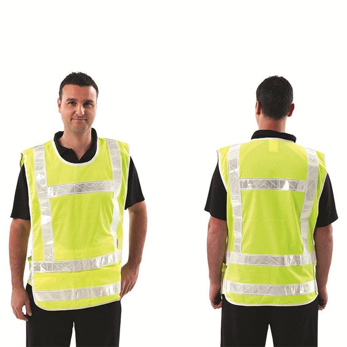 ProChoice Traffic Controller Vest / White Reflective Tape