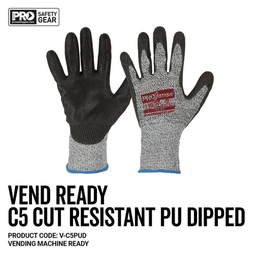 ProChoice PROSENSE C5 Cut 5 with PU Palm Vend Ready Glove - Dynaton Australia