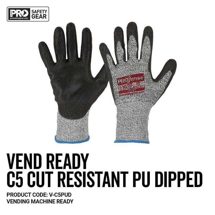 ProChoice PROSENSE C5 Cut 5 with PU Palm Vend Ready Glove