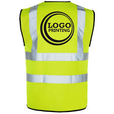 Vest Logo Printing for Quantity 20-49. One colour.
