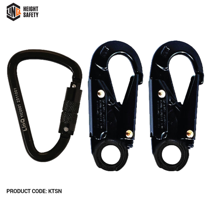 Elite Double Leg Shock Absorbing 2M Adjustable Lanyard
