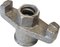 17 mm ZBar Nuts Double Arm Galvanised (40 per Box)
