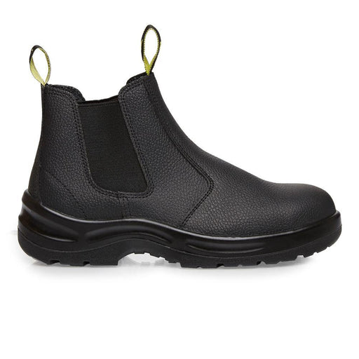 MUNKA BULL SLIP ON WORK BOOT - BLACK - Dynaton Australia