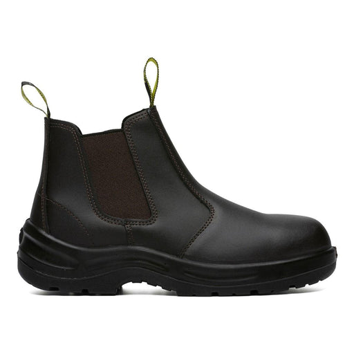 MUNKA STEER SLIP ON (NON-SAFETY) WORK BOOT Claret