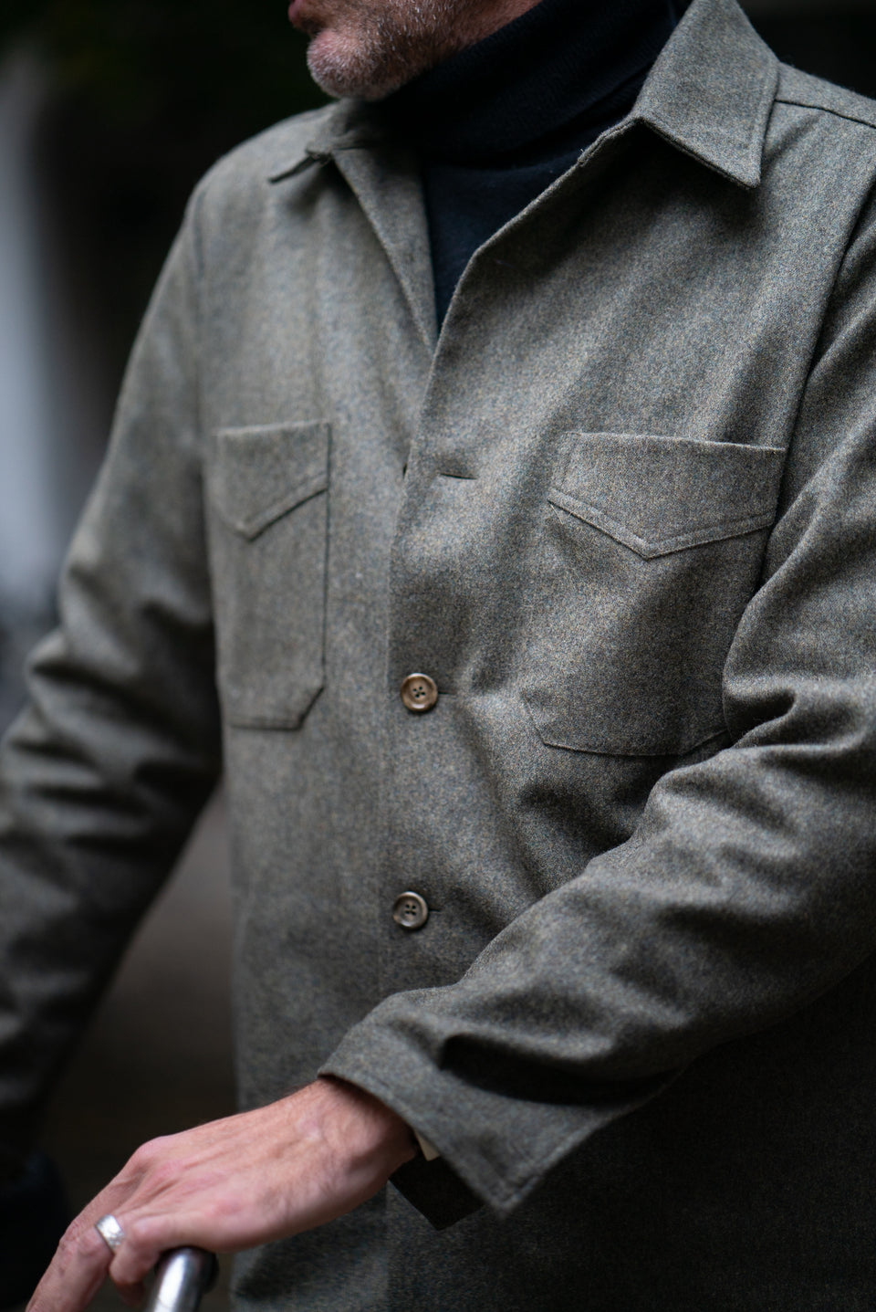 PML Overshirt - Fox Bros. 'Palazzi flannel' capsule