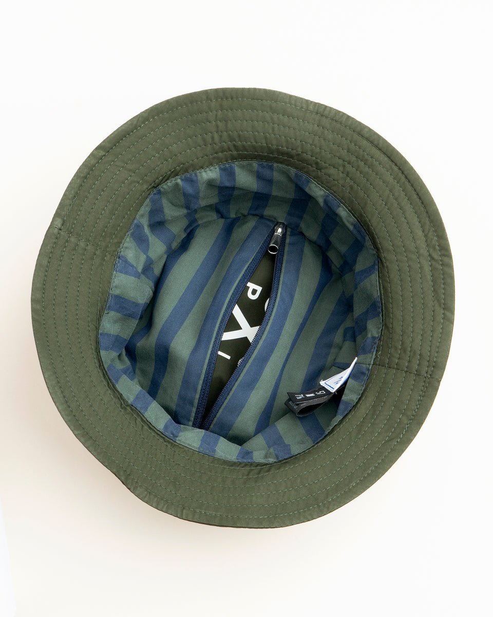 PML foldable bucket hat green
