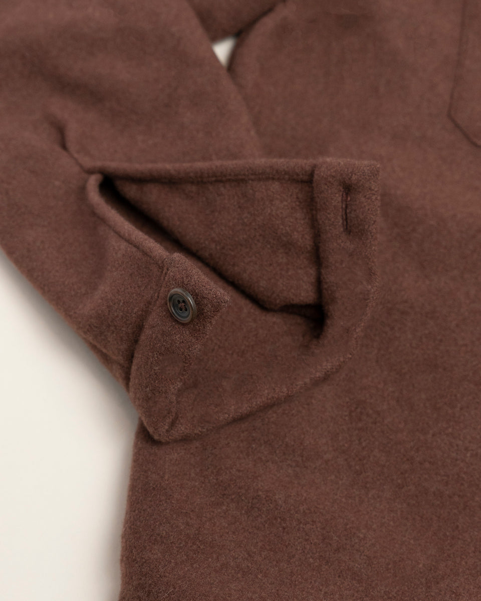 PML Cashmere Overshirt Brown