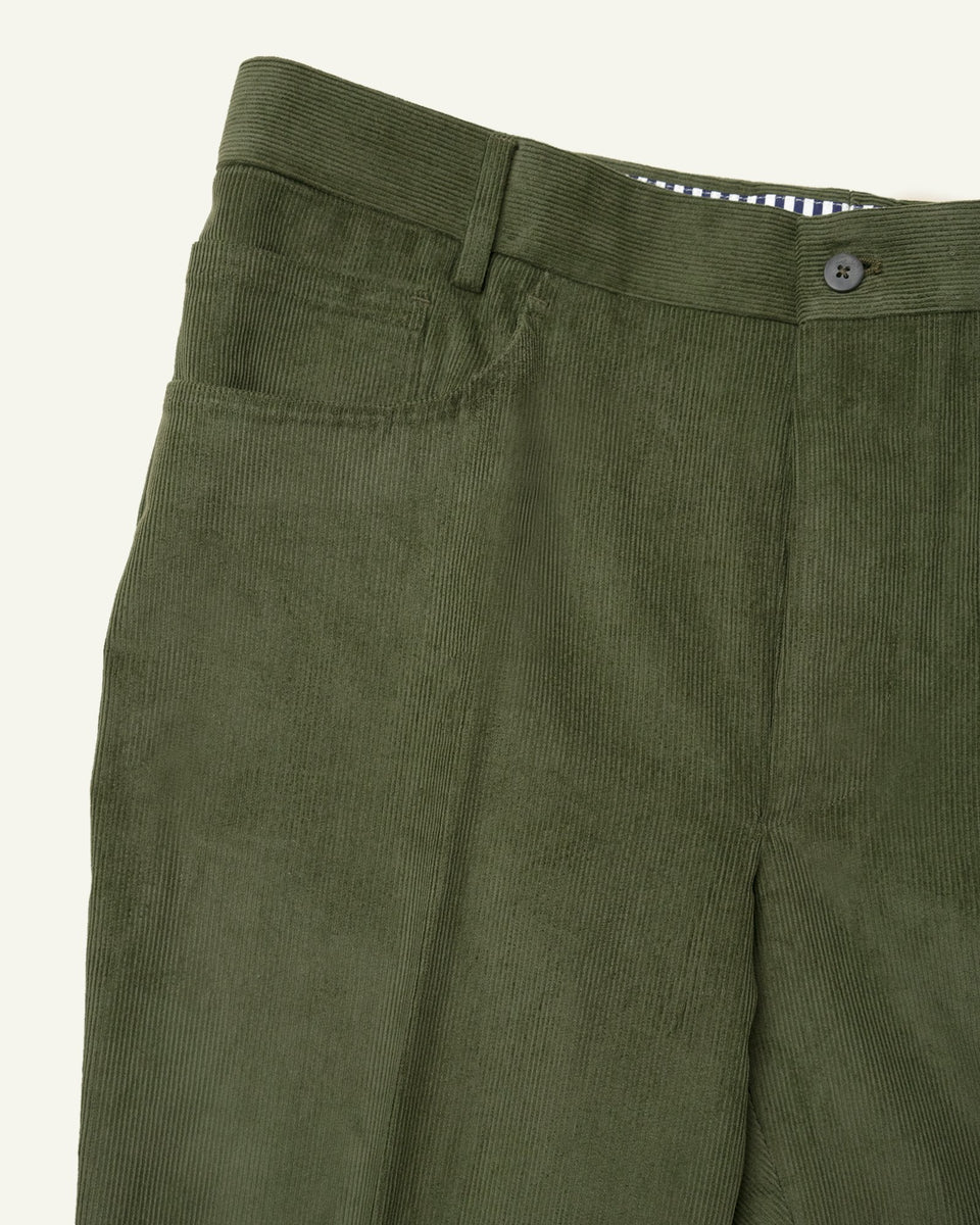 PML 5 pockets corduroy Green