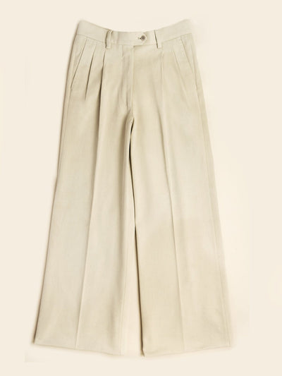 "Carin Lilja+PML ""The Suzanne"" ladies trousers off white"