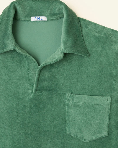 PML Chenille Polo-green