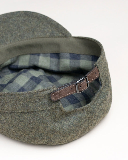 PML Army Hat-Fox Bros. 'Palazzi flannel' capsule