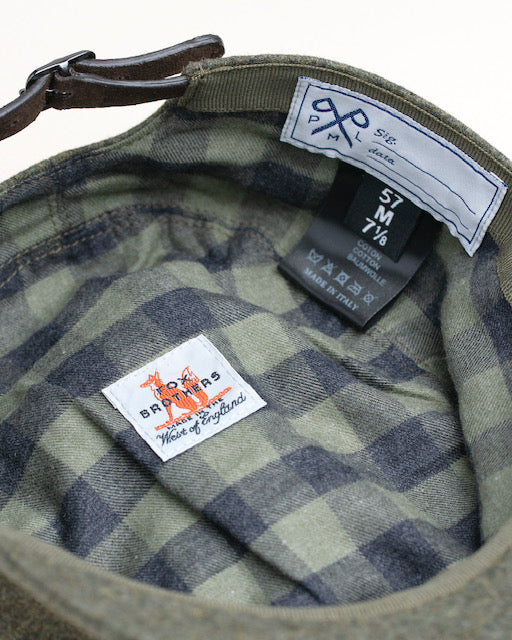 PML Army Hat - Fox Bros. 'Palazzi Flannel' Capsule