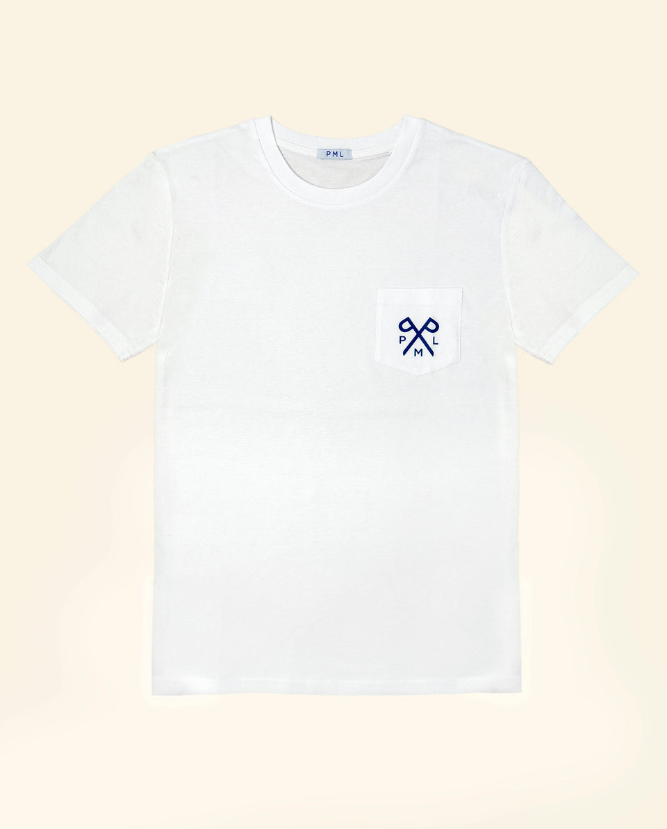 PML t-pocket white